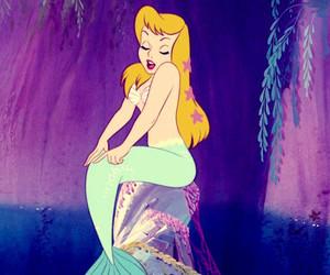 mermaid and disney image