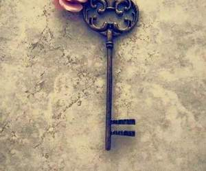 heart, love, and key image