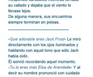 frases de amor, jack frost y elsa, and jelsa image