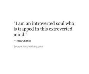 quote mind introvert image