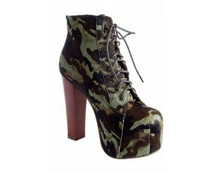 jeffrey campbell, lita, and military image