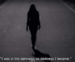 alone, dark, and emo image