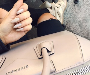 chic, nails, and clothes image