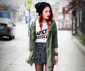 grunge, outfit, and arctic monkeys image
