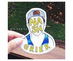 fan art, nash, and nashgrier image