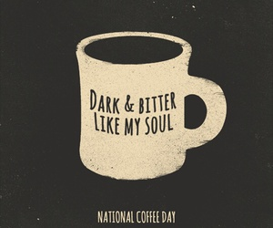 bitter, black, and coffee image