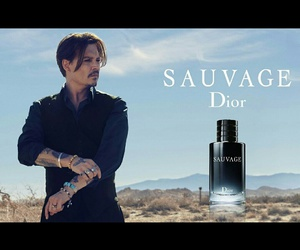 dior, johnny depp, and love image