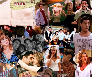 montage, tv show, and friends image