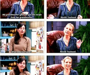 friends, funny, and monica geller image