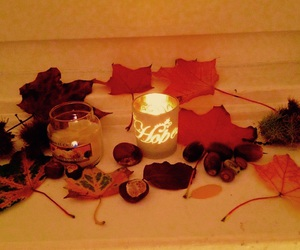 autumn, cold days, and candles image