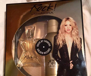 gold, perfume, and shakira image