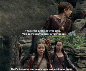 narnia, books, and funny image