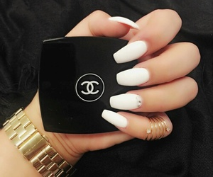 chanel and nails image