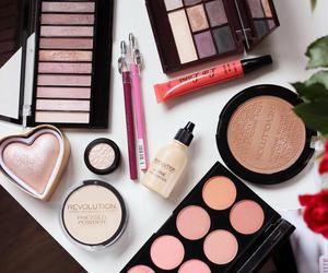 cosmetic, makeup, and palette image