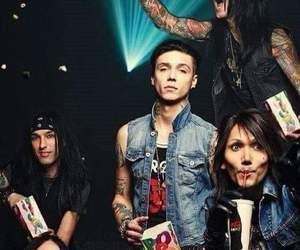 rock, c.c, and ashley purdy image