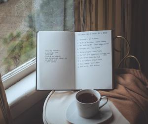 Book Coffee And Rain Image