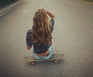 board, girl, and holidays image