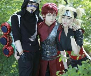 cosplay, gaara, and temari image