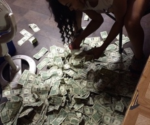 money, goals, and cash image