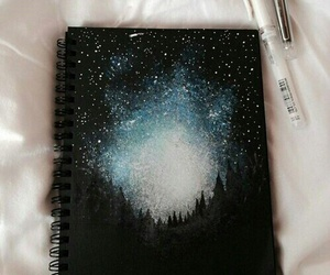 drawing, stars, and art image