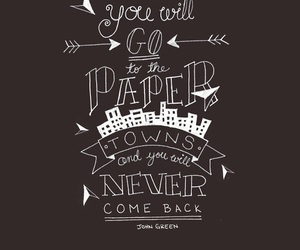 book, quote, and john green image