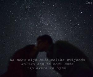 mjesec, zvijezde, and citati image
