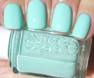 nails, essie, and mint image
