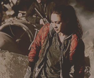 warrior, the 100, and raven reyes image