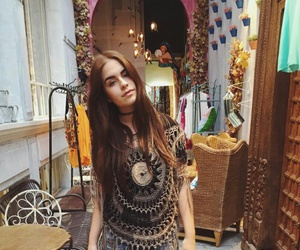boho, decor, and fashion image