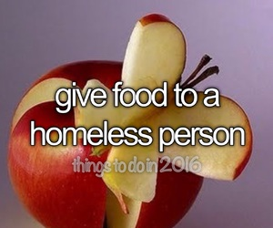 food, give, and homeless image