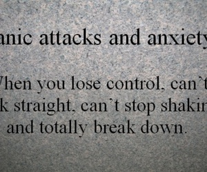 anxiety, panic attack, and depression image