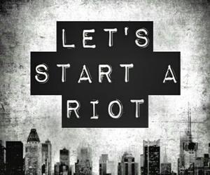 riot, three days grace, and Lyrics image