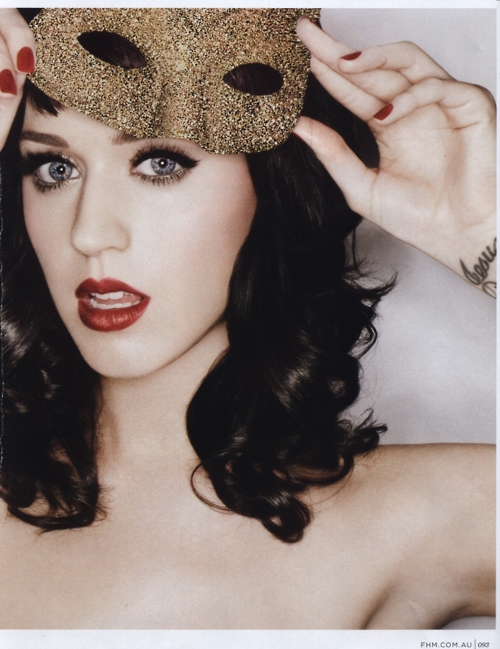 katy perry and red image