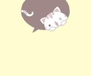 background, kitty, and cat image
