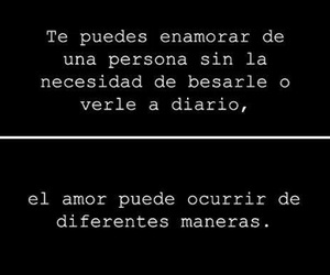 love, frases, and amor image