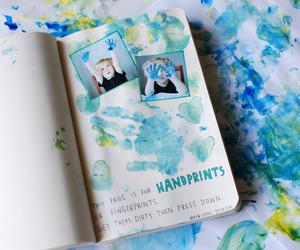 fingerprint, wreck this journal, and keri smith image