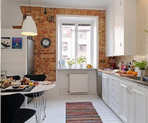 house and kitchen image