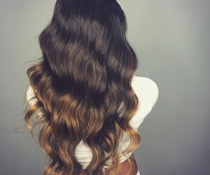 beauty, glam, and hair image