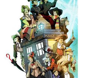 doctor who, 10th doctor, and 11th doctor image