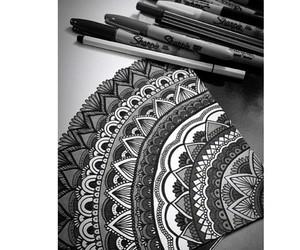 art, dani, and zentangle image