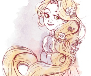 princess and rapunzel image