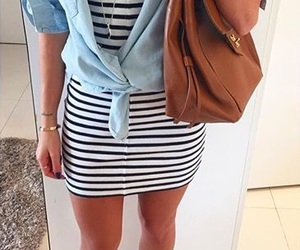 beach, fashion, and look image