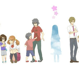 anime and ano hana image
