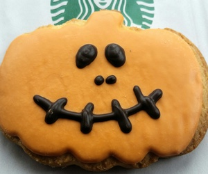 cookie, food, and orange image