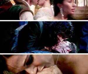 kiss, once upon a time, and otp image