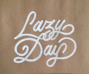 kraft paper, Lazy, and lazy day image