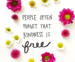free, kindness, and quote image