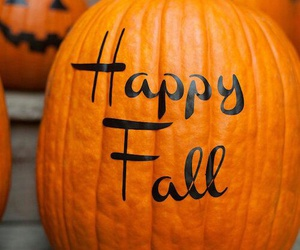 background, fall, and pumpkin image