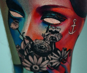 beauty, cool, and tattos image