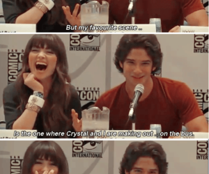 tyler posey and crystal reed image
